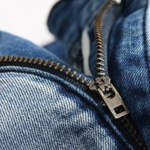 jeans for men skinny slim zipper