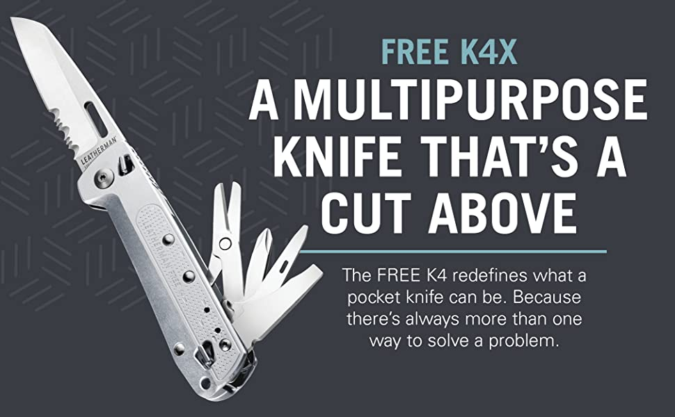 A multipurpose knife that's a cut above