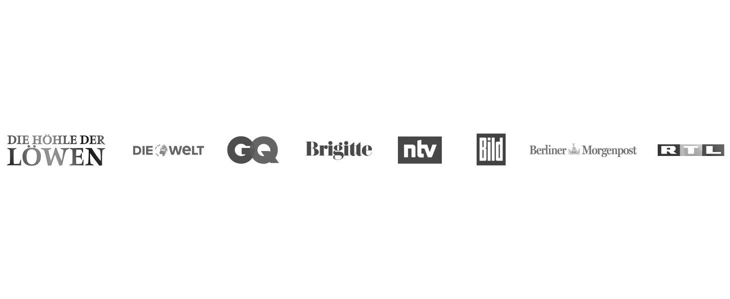 Logos Medien Bekannt aus