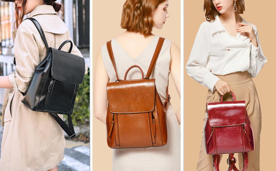 BAGZY Women Backpack Fashion Rucksack