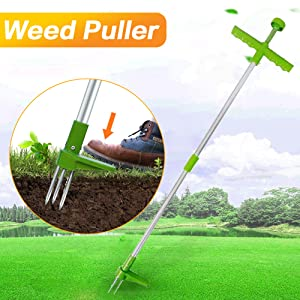Patio, Lawn & Garden Manual Weeders FSYEEL Stand Up Weed Puller ...