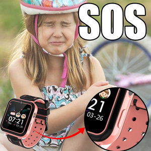 HD Touchscreen Kids Watches for Boys Girls Children 4-12