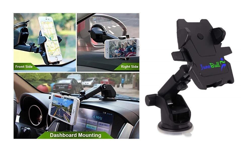 JunoBull mobile holder for car dashboard