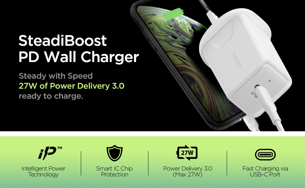 usb c charger power delivery iphone 11 pro max xs xr x 8 plus galaxy s10 note 10 9 fast charge