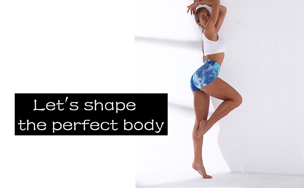 Fashion Women Sportswear Yoga Shorts