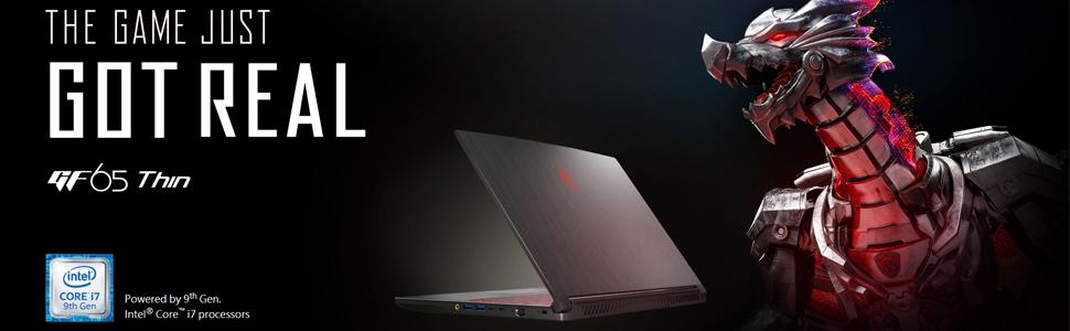 "MSI GF65 Thin 15.6"" Full HD Gaming Laptop"