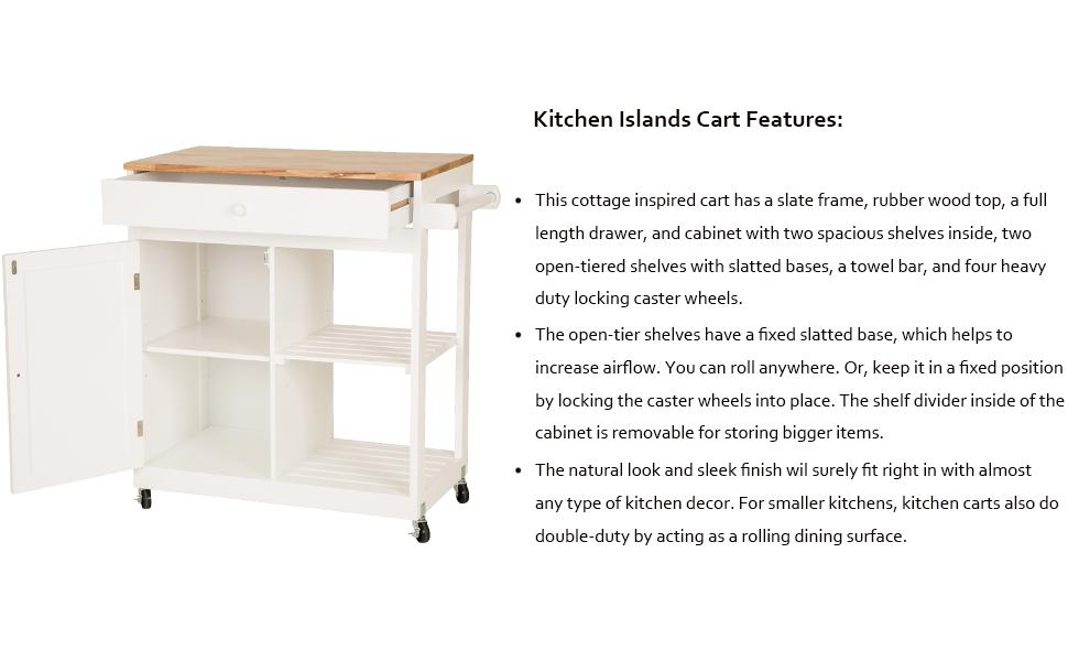 wooden kitchen island with drawer