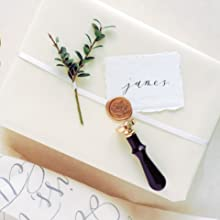 wax seal stamp champagne
