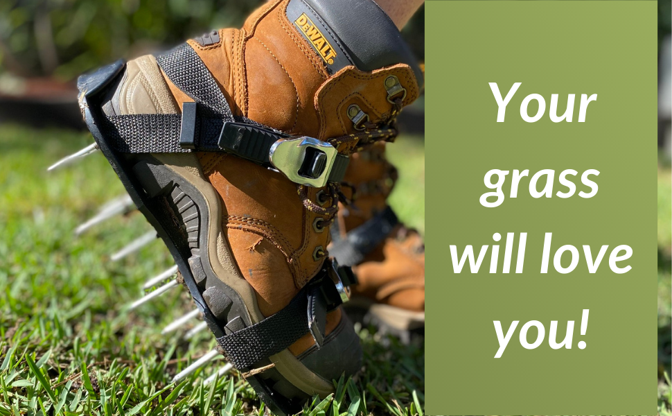 Your grass will love you once you aerate your lawn