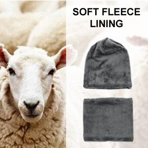 Berretto fodera in lana per uomo e donna Cappello fodera in lana uomo e donna