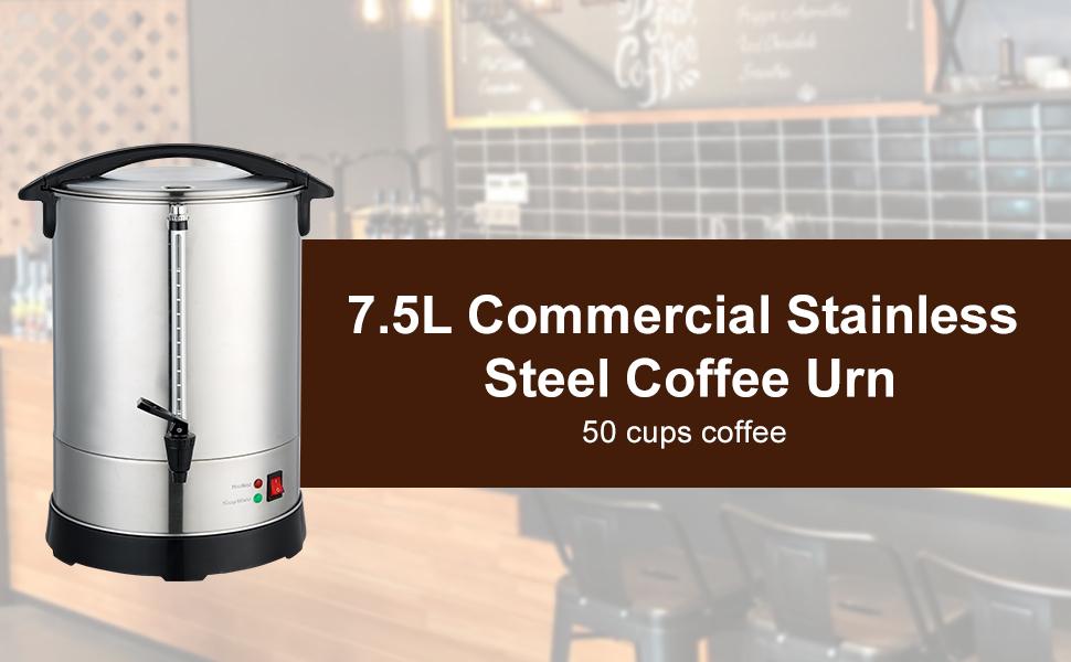 7.5L coffee urn