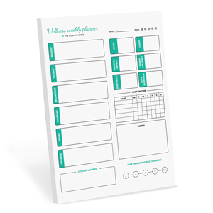 Weekly planner The positive store planner pad habit tracker