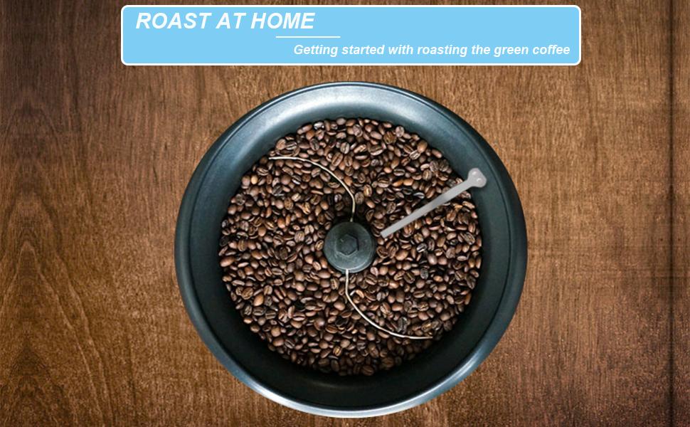 Electric Coffee Roaster Machine Coffee Bean Baker Household Coffee Bean Roast Machine for Home Use