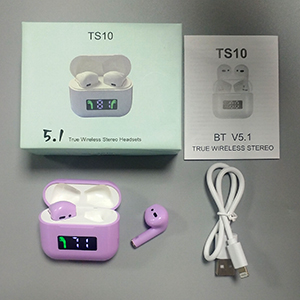 package of the earbuds wireless bluetooth