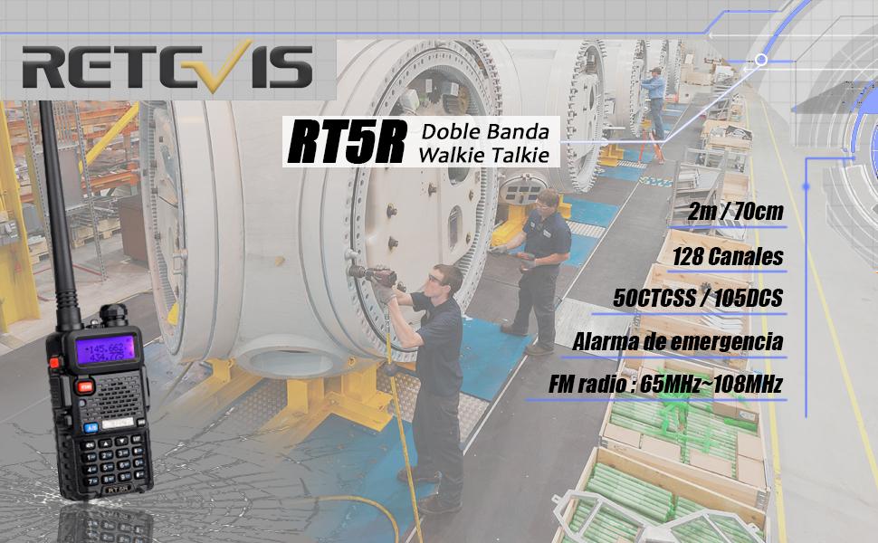 RT5R walkie talkie