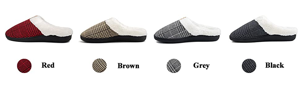 lady elegant slipper casual breathable knitted home shoes black soft plush fleece lined flat slipper