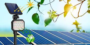 Solar light for garden