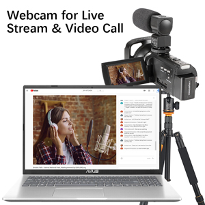 Use the Function as PCCAM (Webcam)