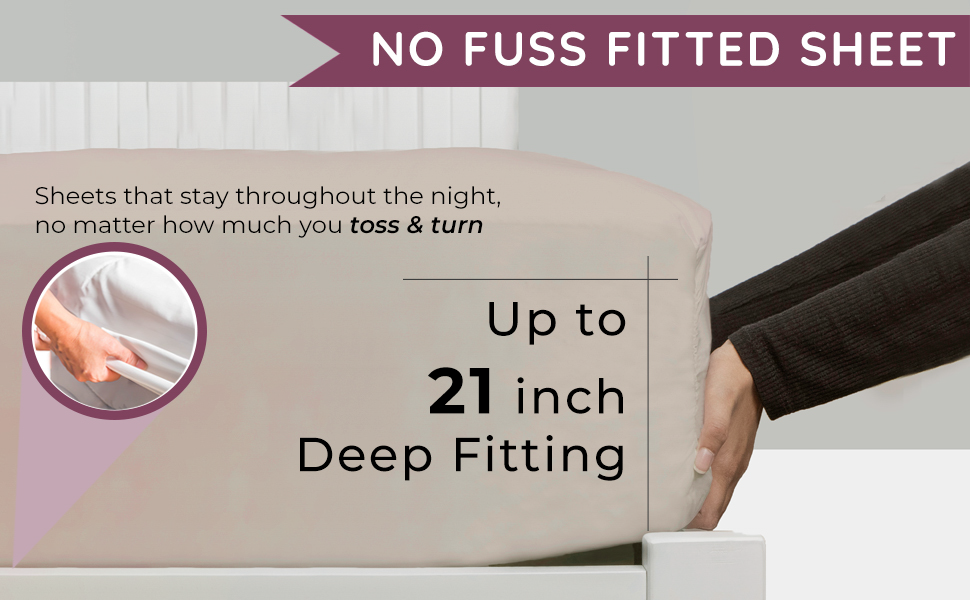 no fuss fitted sheet