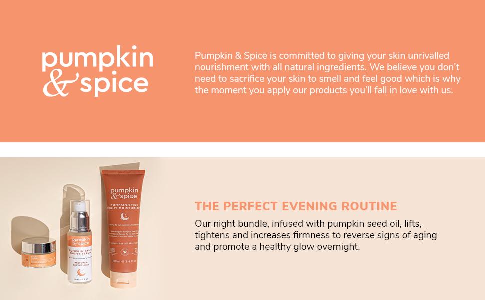 Pumpkin Spice Night Bundle Skincare Kit