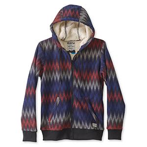 KAVU Harlow Hoodie Fleece Sweatshirt - Sherpa Zip Hoodie