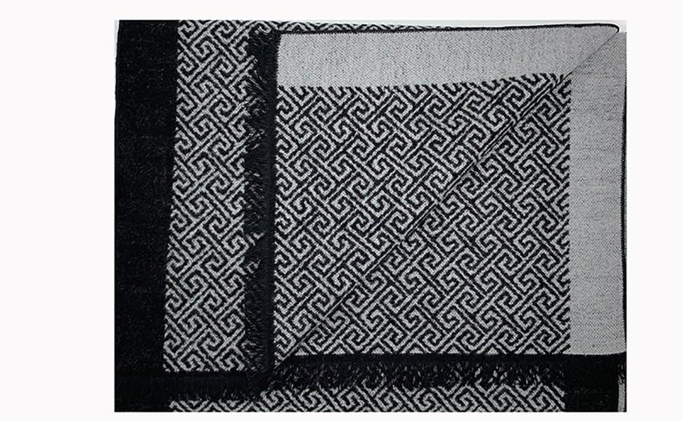 Sciarpa di seta, sciarpa invernale, sciarpa grigia, sciarpa elegante, sciarpa di lusso.