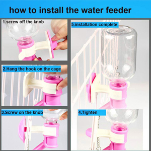 Dog water feeder