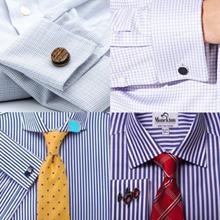 suit cufflinks