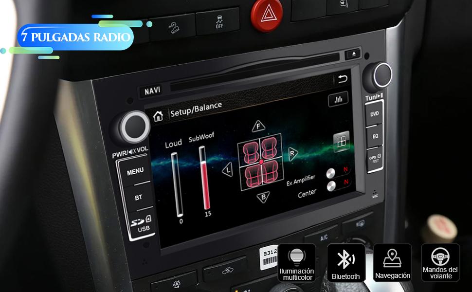 radio 2 din Opel Vivaro Zafira Antara Astra Vectra Corsa Sigum Meriva Combo
