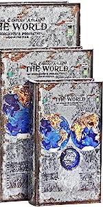 Bellaa 28229 Book Box Triple Moon Goddess Tree of Life Pentacle Set 3