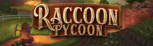 Raccoon Tycoon board game title