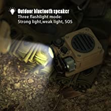 Three Flashlight Modes