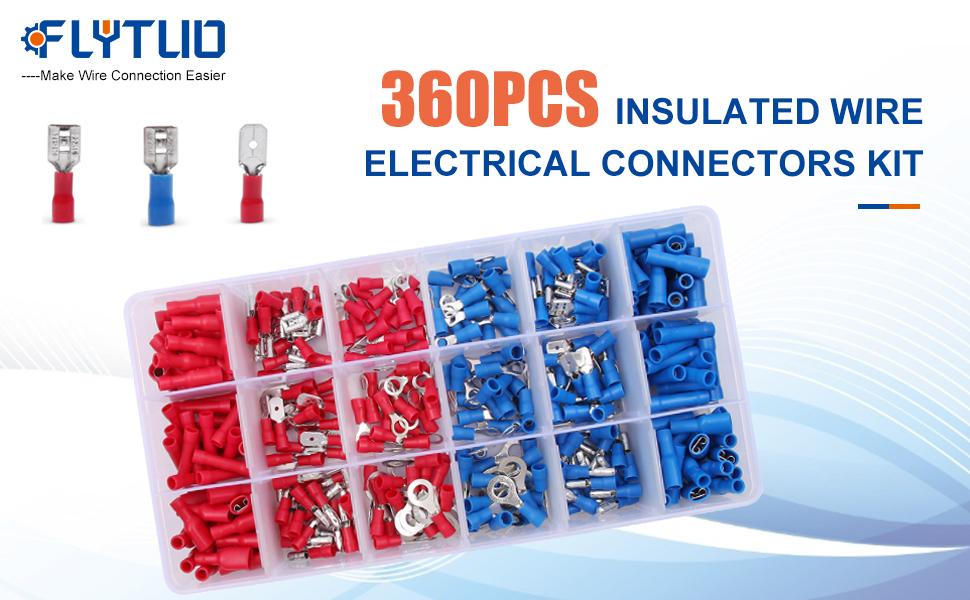 360pcs Waterproof Wire Connectors