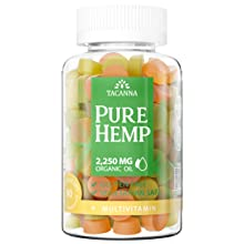 tacanna hemp oil gummies natural product heo il with multivitamin kosher non gmo product