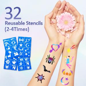 32 Reusable Stencils