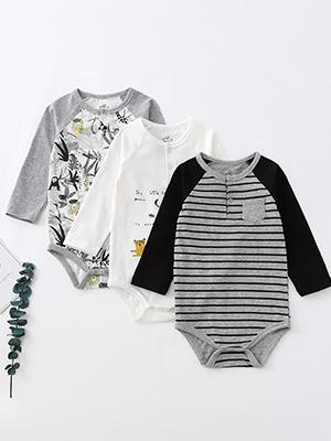 Baby cotton clothes set