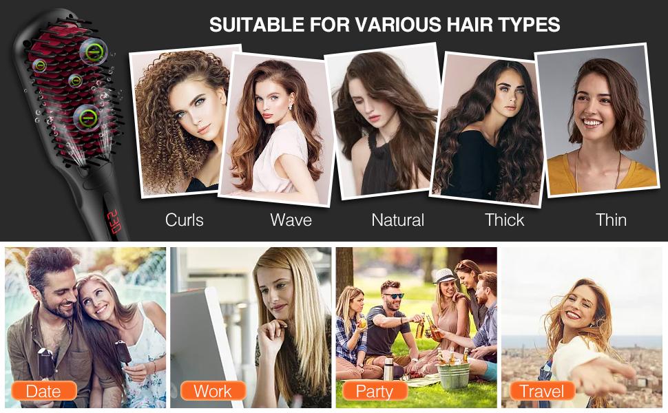 all hair typs curl wavy