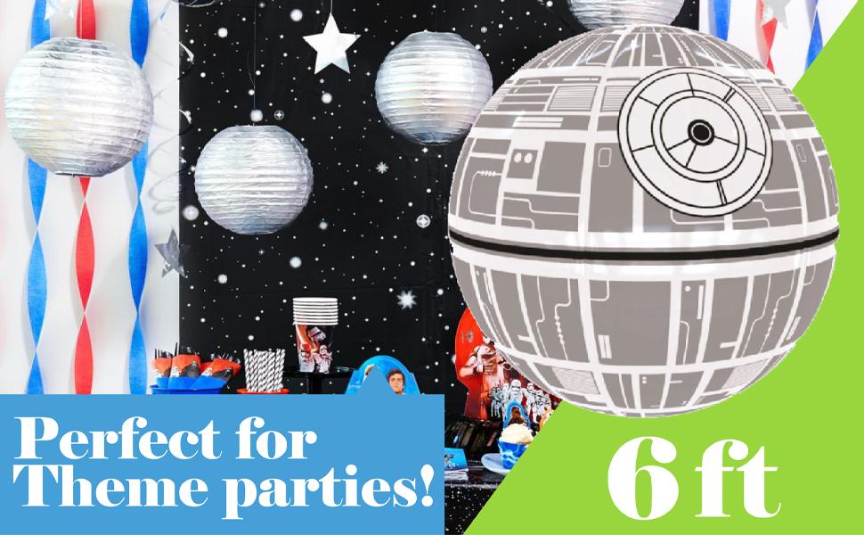star wars, death star, beach balls, inflatables,fun,play indoor,outdoor, pool,birthaday,christmas,