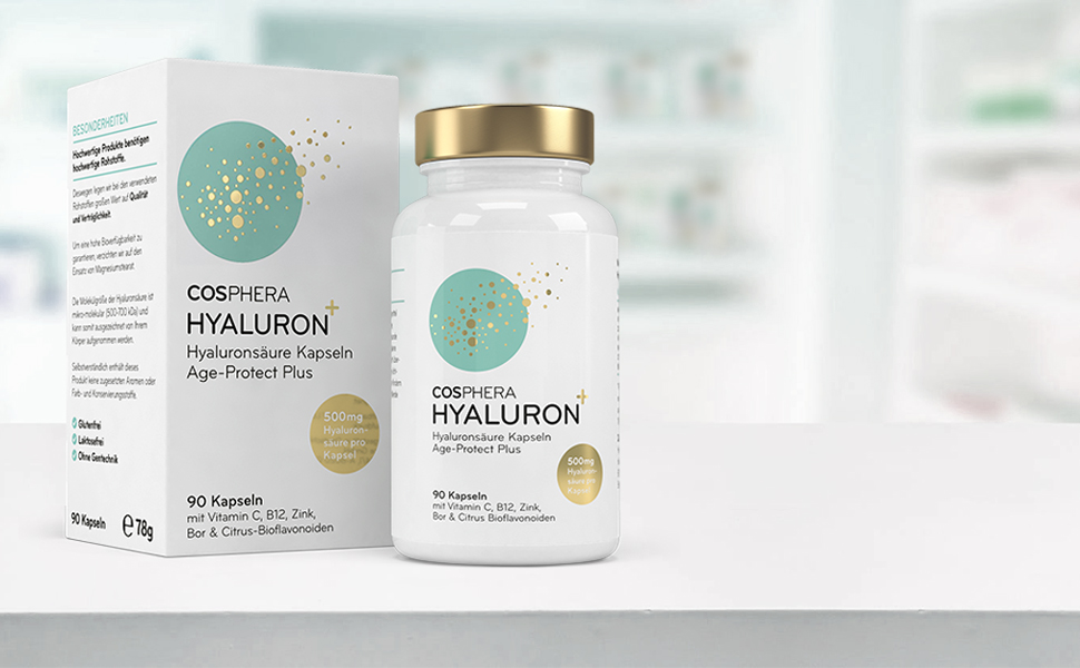 Hyaluron kapseln hochdosiert