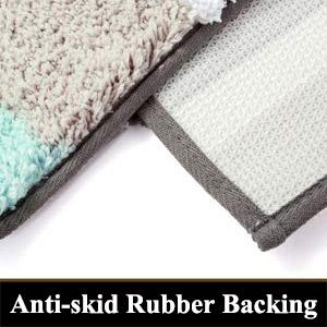 water absorbing bath mats