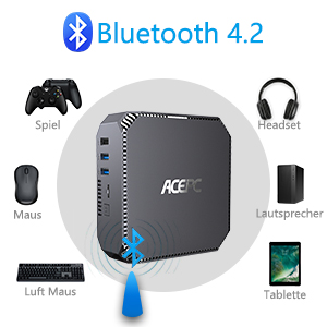 Supports Bluetooth 4.2 Technology
