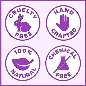 pureSCRUBS Safe and Natural Lavender Body Scrub