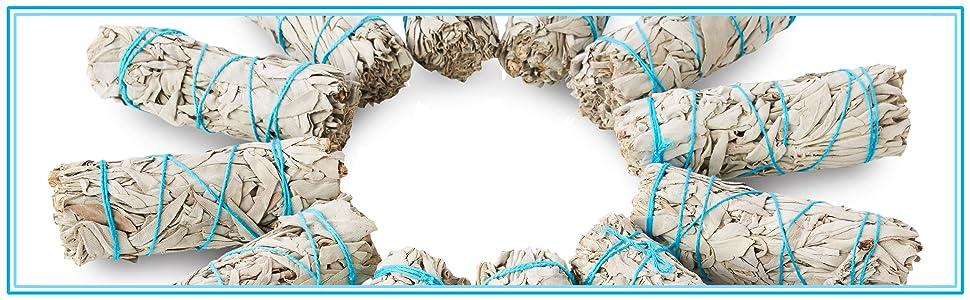 jl local smudge kit sage abalone shell smudge sticks bundles white sage