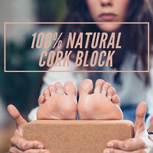 cork and eva yoga block