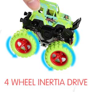 big wheel monster truck set of 4 mini car set