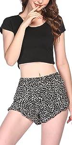 lounge shorts for women