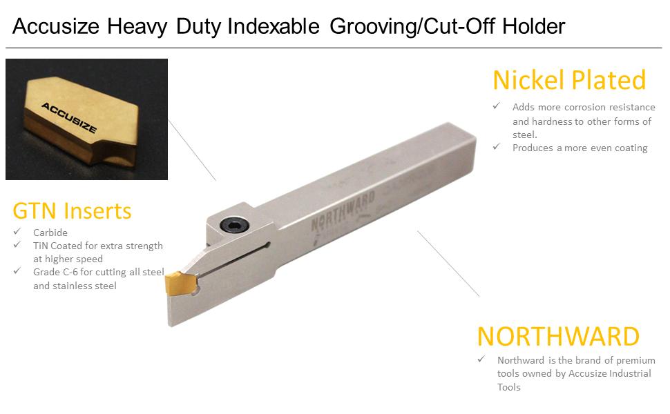 GTN3 Inserts Parting Off Tips Inserts High Speed Steel Part Cutting Tools Q