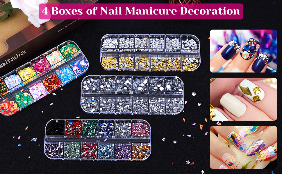 Rhinestones for Nails