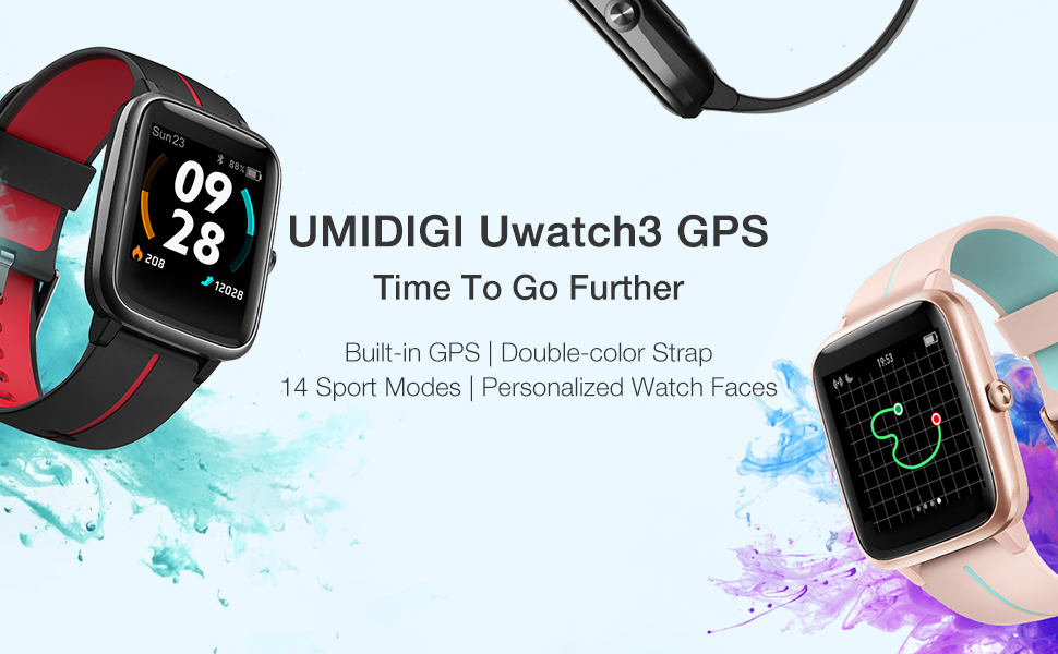 Uwatch3 GPS main pic