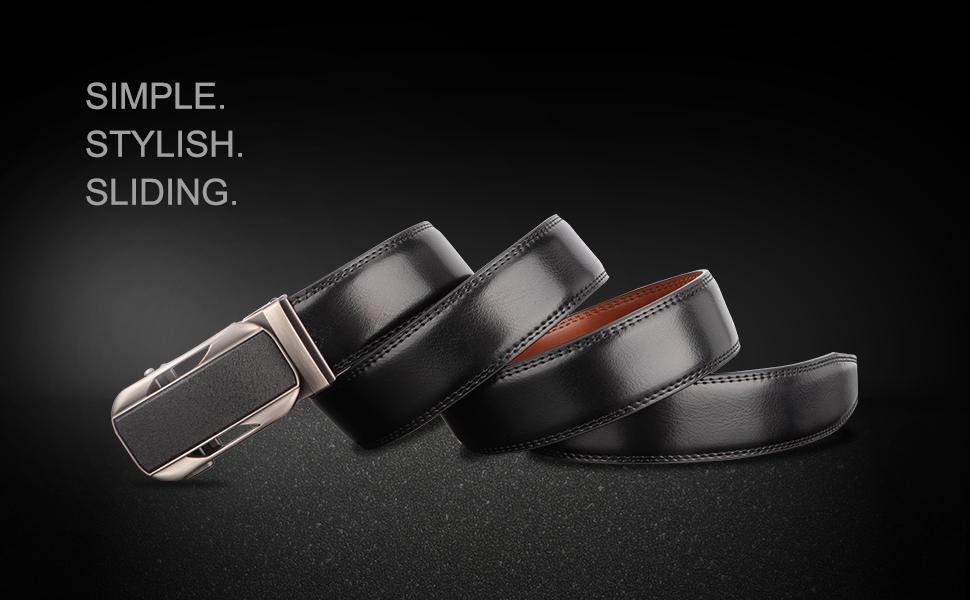 Leather Ratchet Belt